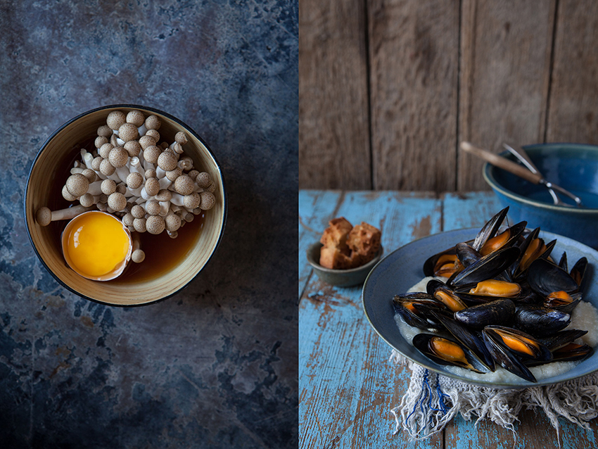 regula-ysewijn-mussels-eggs-blue-photography
